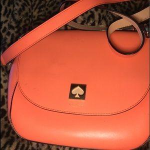 Kate spade orange shoulder bag